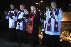 Droga Krzyżowa ulicami miasta w 14 rocznicę odejścia do Domu Ojca Świętego Jana Pawła II