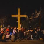 Droga Krzyżowa ulicami osiedla 2016