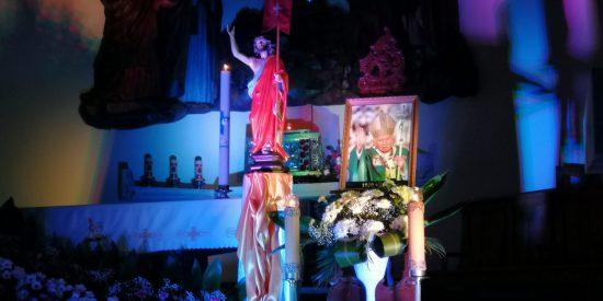 Czuwanie z młodzieżą na 100 – lecie urodzin Papieża Polaka